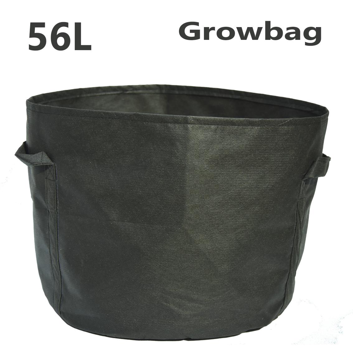 Тканевый горшок Grow Bag круглый 56л