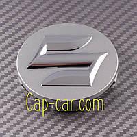 Колпачки, заглушки для литых дисков Suzuki. 43252-63J10-0PG. хром+хром (54мм)