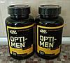 Витамины для мужчин OPTI-MEN Optimum Nutrition USA (150 tab)