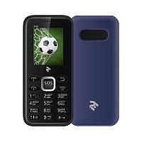 "Мобильный телефон 2E S180 Dual Sim Blue (680051628653); 1.77"" (160х128) TN / кнопочный моноблок / ОЗУ 32 МБ / 32 МБ встроенной + microSD до 16 ГБ /"