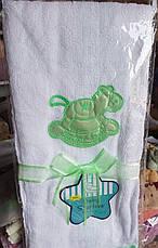 Полотенце в коляску махровое 40х70, фото 3