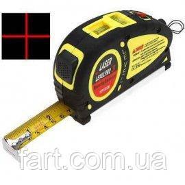 Лазерный уровень Laser Level Pro 3 LV-05 с рулеткой 5,5 м.