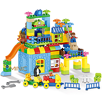 Развивающий конструктор Парк развлечений Tumama 160 детали Совместим с LEGO DUPLO