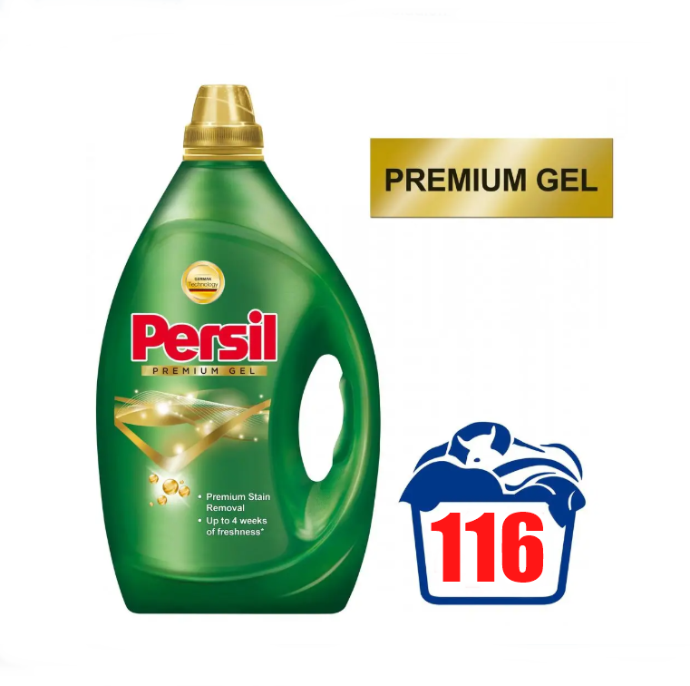 Рідкий концентрований порошок для прання Persil Premium Gel 5.8 л
