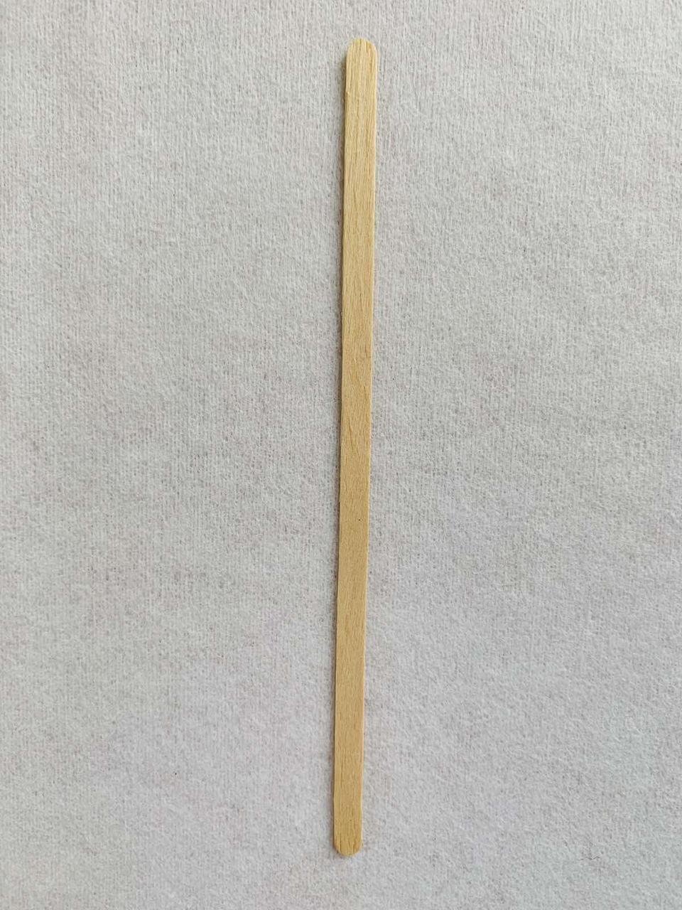 Размешиватель дерев'яний одноразовий Д 0,5*14 см (мішалка)