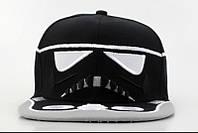 Кепка с прямым козырьком Star Wars черная, фото 1