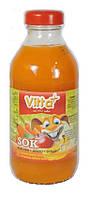 Сок детский Vitta Plus  морковь, яблоко, банан Польша 330 мл