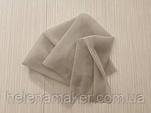 Фатин мягкий серый 50*50 см