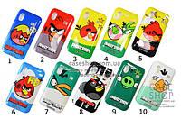 Пластиковый чехол «Angry Birds» для Samsung s5830 Galaxy Ace