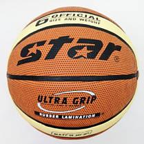 М'яч баскетбольний PU №6 STAR JMC06000Y