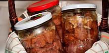 Вкусная говяжья тушенка  0,5 л