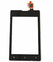 Sony Xperia сенсор для телефона (Touch screen) Sony C1503 / C1504 / C1505 /  Сенсорный экран  черный