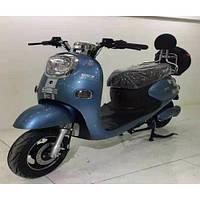 Электроскутер «Классика» (Серо-голубой)