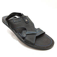 Мужские кожаные сандалии  р. 41, 44, фото 1