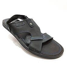 41 р. Чоловічі шкіряні сандалі остання пара