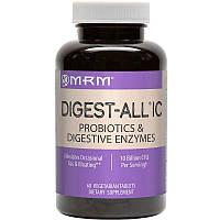 MRM, Digest-All IC, 60 таблеток вегетаріанських, фото 1