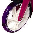 """Двухколёсный самокат AmigoSport """"Glider"""" с ножкой и ручным тормозом, Розовый, фото 5"""