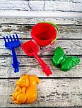 Песочный набор Кувшинка 2 1043 КолорПласт Украина, фото 2