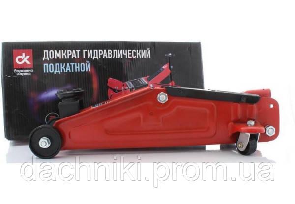 Домкрат подкатной Дорожная карта FJ-03