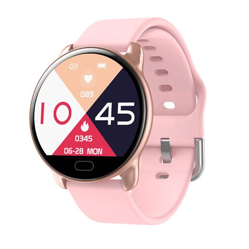 Умные часы Smart watch band K9 c тонометром Pink (SB0001K9PINK)