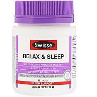 Swisse, Ultiboost, для спокою і міцного сну, 60 таблеток