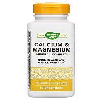 Nature's Way, Calcium & Magnesium Mineral Complex, 750 mg, 250 Capsules