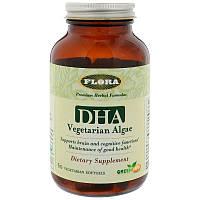 Flora, ДГК из водорослей, 60 вегетарианских мягких желатиновых капсул