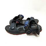 42,44 р  Мужские кожаные сандалии с кожаной стелькой, фото 3
