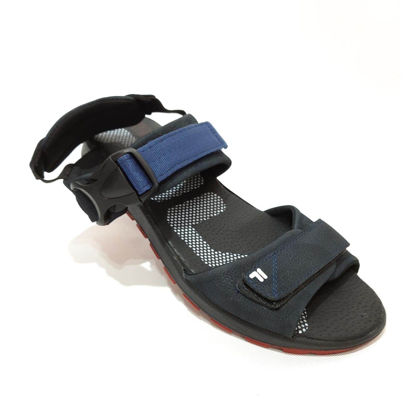 42,44 р  Мужские кожаные сандалии с кожаной стелькой
