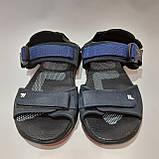 42,44 р  Мужские кожаные сандалии с кожаной стелькой, фото 2