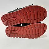 42,44 р  Мужские кожаные сандалии с кожаной стелькой, фото 9
