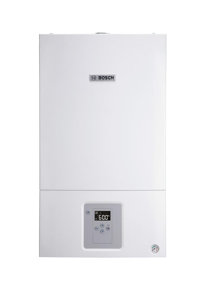 Котел газовый двухконтурный турбированый 18 кВт Bosch WBN 6000-18C RN двухконтурный, 7736900167