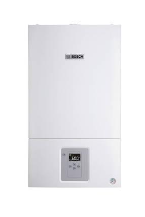 Котел газовый двухконтурный турбированый 18 кВт Bosch WBN 6000-18C RN двухконтурный, 7736900167, фото 2