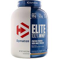 Dymatize Nutrition, Протеин Elite 100% Whey, шоколад и арахисовое масло, 2,3 кг