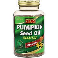 Health From The Sun, Тыквенное масло, 90 Вегетарианских мягких таблеток