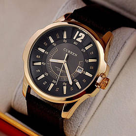 Часы мужские Curren Colorado brown-gold-black