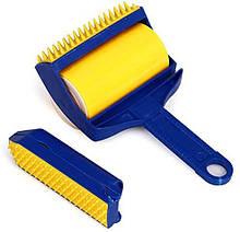 Щетка липкий валик Sticky Buddy для чистки ковра одежды (n-574)