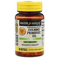 Mason Natural, Масло вечерней примулы, 60капсул