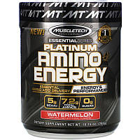 Muscletech, Platinum Amino Plus Energy, арбуз, 288г