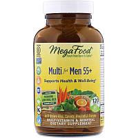 MegaFood, мультивитамины для мужчин в возрасте от 55 лет, 120 таблеток