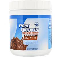 Pure Protein, 100% Whey Powder, Rich Chocolate, 1 lb (453 g)