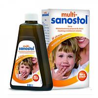 Multi-Sanostol жидкие вкусные витамины для детей от 1 года  300 гр