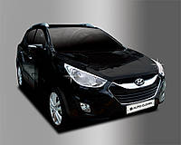 Хром накладки на фары Hyundai IX-35 2009-2012, фото 1