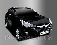 Хром накладки на фары Hyundai IX-35 2009-2012 (Autoclover B635)