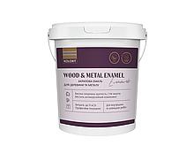 Емаль для дерева та металу Kolorit Wood And Metal Enamel напівматова (2л)