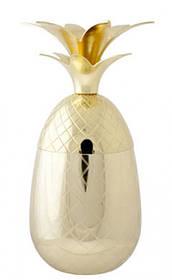 Стакан для коктейля - 400 мл, Золотой (Cosy&Trendy) Pineapple
