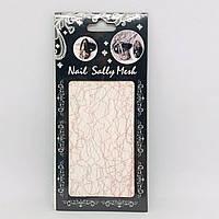 Наклейка для ногтей Nail Sally Mesh (розовый), фото 1