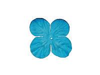 Набор цветочков Гортензии — Ярко-голубые маленькие, 30 мм, 10 шт