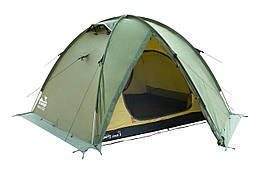 Намет Tramp Rock 3 м, TRT-028-green Палатка туристична 3 місна. Намет туристичний