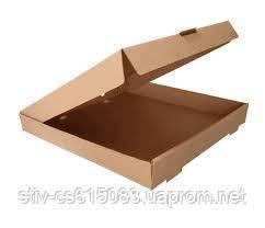 Коробка для пицы 315*315*35 бурый
